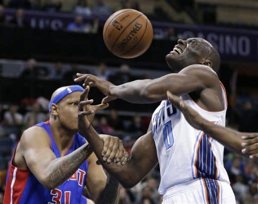Pistons beat Bobcats 92-91 to snap losing streak