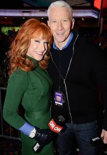 Kathy Griffin and Anderson Cooper | Photo Credits: Kevin Mazur/Getty Images