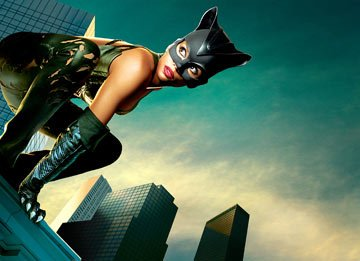 Halle Berry in Warner Brothers' Catwoman