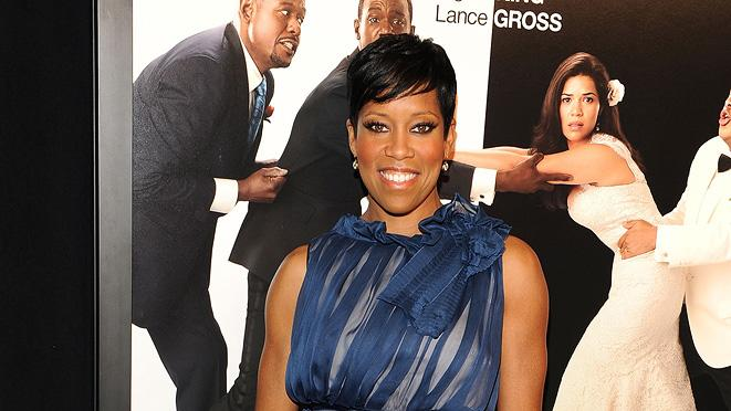 Our Family Wedding NY Premiere 2010 Regina King