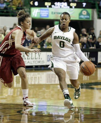 No. 1 Baylor women beat No. 20 Oklahoma 82-65