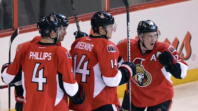 Senators rally past Bruins 4-2