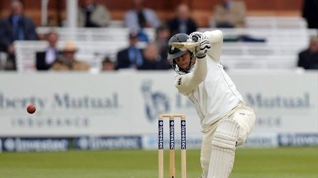 Ross Taylor was closing in on his highest Test score at lunch on day two in Dunedin.
