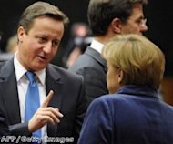 EU budget standoff likely as Cameron meets Merkel in No 10