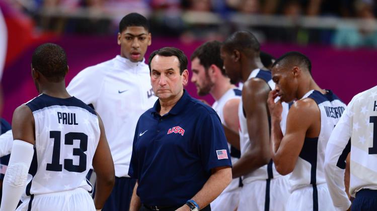 Olympics: Basketball-Men's Quarterfinal-USA vs AUS