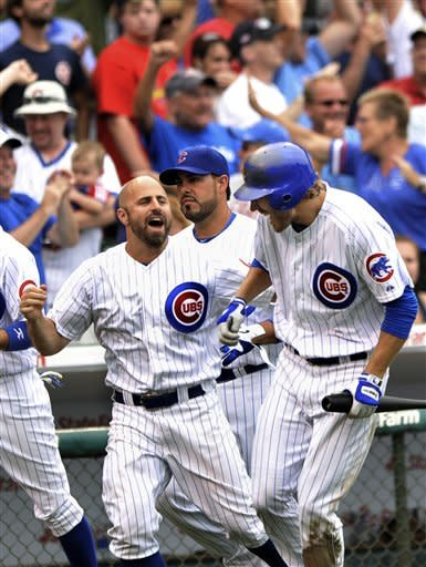 Rizzo hits 2-run HR in 10th, Cubs beat Cardinals