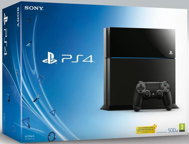 Here's the retail box for PlayStation 4 and its many accessories