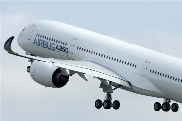 New Airbus A350