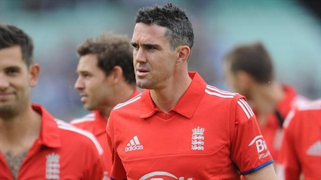 Rain ended Kevin Pietersen's England return