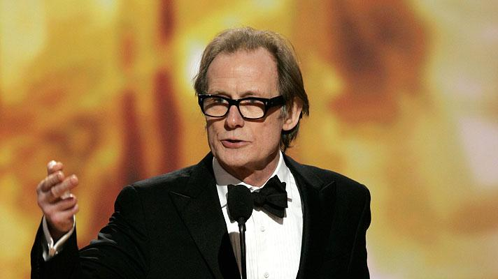 Bill Nighy at the 64th annual Golden Globe Awards.