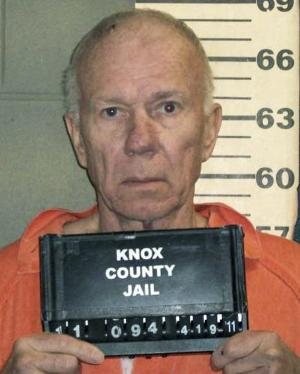 This undated booking photo released by the Knox County Sheriff's Office shows Charles Black, accused of pushing his then-wife Lisa off Maiden Cliff in Maine's Camden Hills State Park in April 2011, in an attempt to kill her and claim a $4 million inheritance. He is charged with trying to kill her by hitting her in the head with a rock before pushing her off the cliff. Lisa Black survived after falling a short distance and sought help. Jury selection for Charles Black's trial is scheduled to begin Monday, July 14, 2014 in Rockland. (AP Photo/Knox County Sheriff's Office)