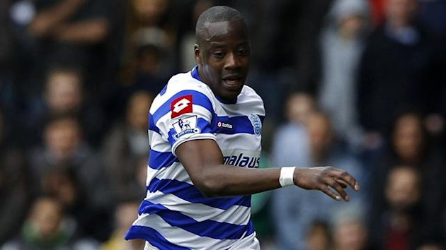 Samba Diakite, QPR, March 2012 (Reuters)
