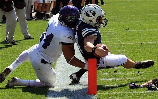 QB Nelson propels BYU past Weber State 45-13