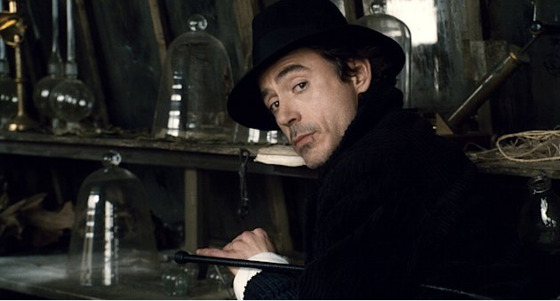Sherlock Holmes Production Photos 2009 Warner Bros. Pictures Robert Downey Jr.
