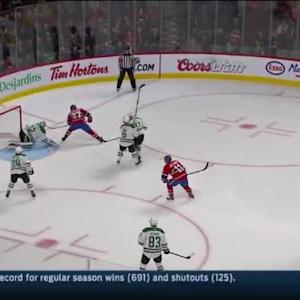 Kari Lehtonen Save on Alex Galchenyuk (01:47/1st)