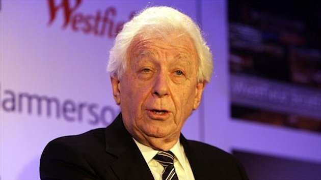 Frank Lowy believes failed bidders should be compensated