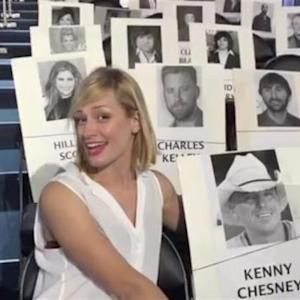 The 50th Annual ACMs - Beth Behrs Wraps Another Day at Rehearsals
