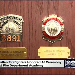 CFD Honors Two Fallen Firefighters