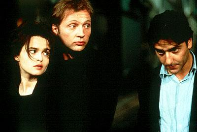 Helena Bonham-Carter , Jean-Philippe Ecoffey and Yvan Attal in Phaedra's Portraits Chinois