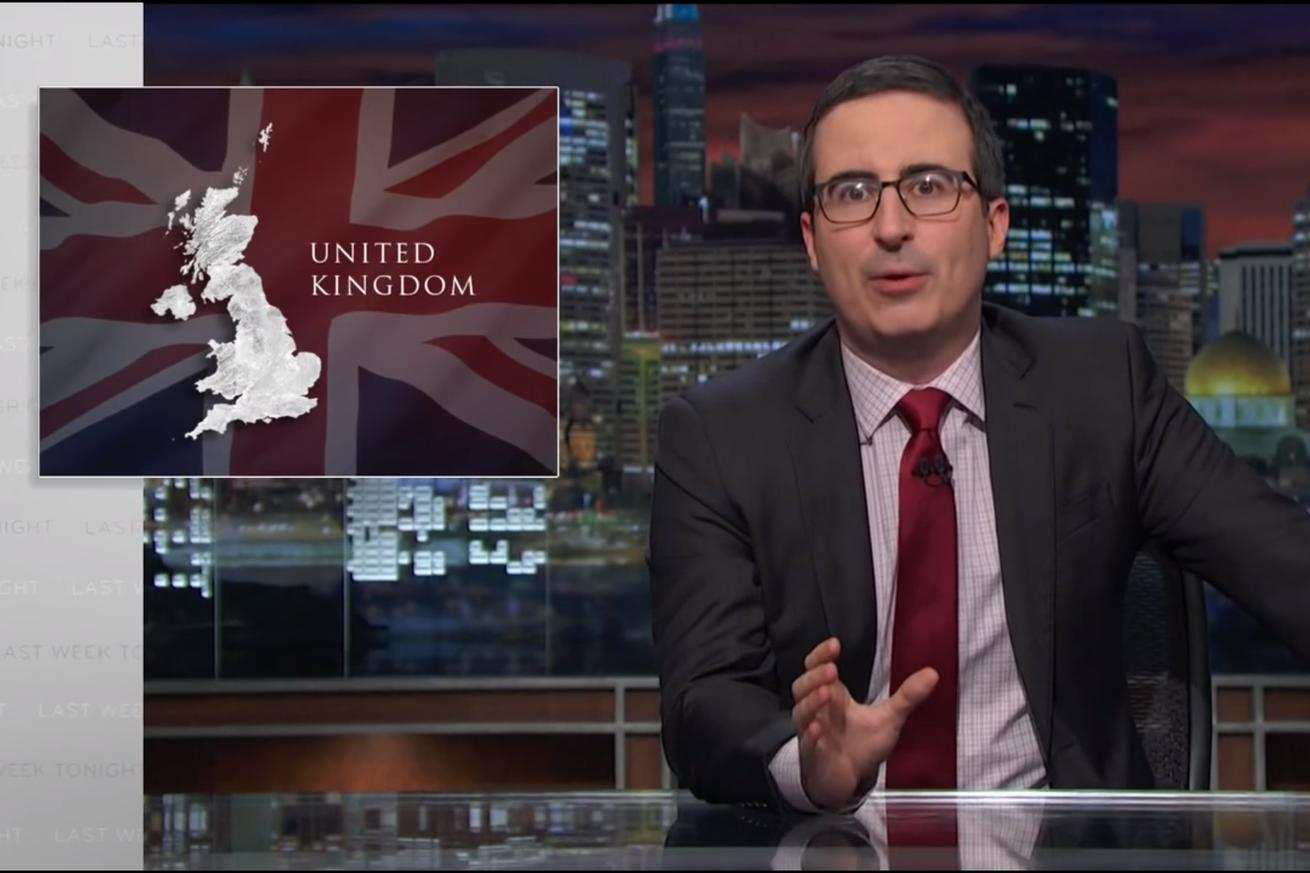 John Oliver's glorious rant in response to Brexit