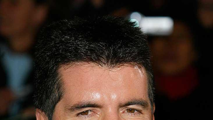Simon Cowell arrives for the 2007 National Television Awards at the Royal Albert Hall.