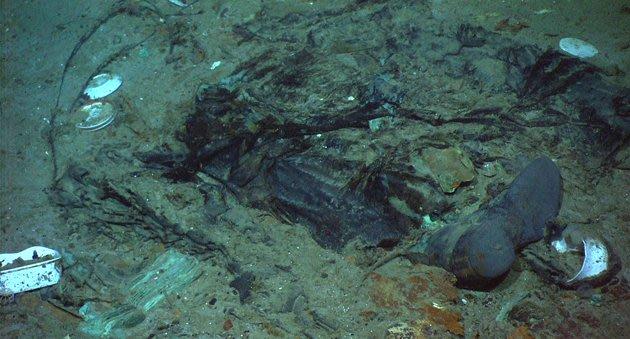 Titanic Underwater Human Remains