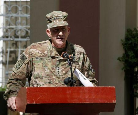 Afghan peace deal with warlord an 'encouraging' step: U.S. general