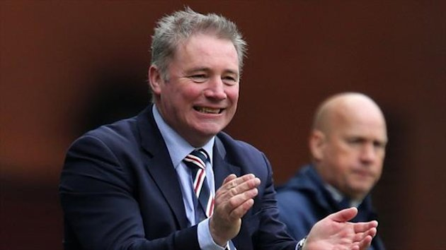 Ally McCoist is happy with his new formation