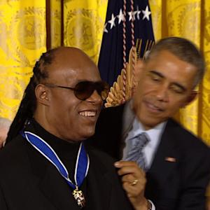 Distinguished Americans receive Medal of Freedom