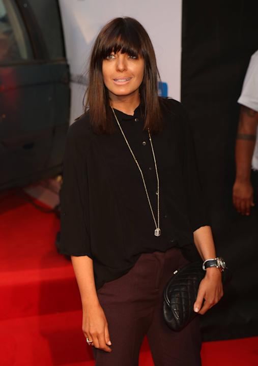 Claudia Winkleman The Sweeney UK film premiere held at the Vue cinema - arrivals London, England - 03.09.12     Mandatory Credit: Lia Toby/WENN.com