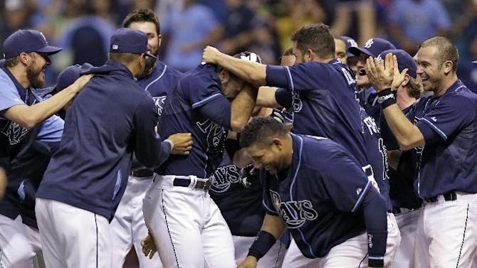 Rodriguez homer gives Rays 5-2 in over A's in 11