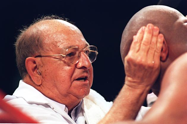 FILE: Boxing Trainer Angelo Dundee Dies At 90