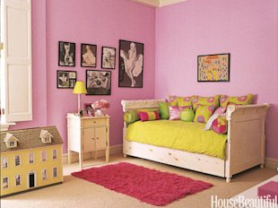 Bright and Whimsical Bedroom