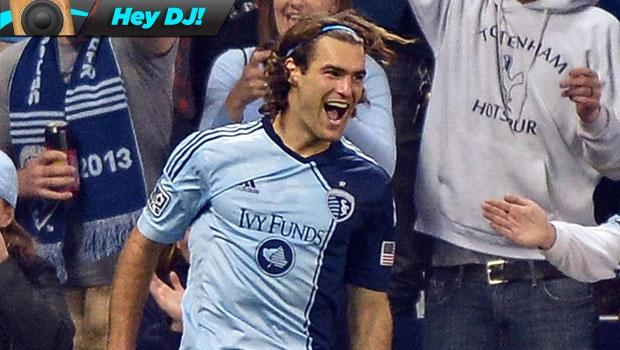 Hey DJ! Sporting Kansas City's Graham Zusi does not like mosh pits