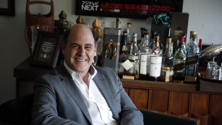 Matthew Weiner poses for a portrait in Los Angeles