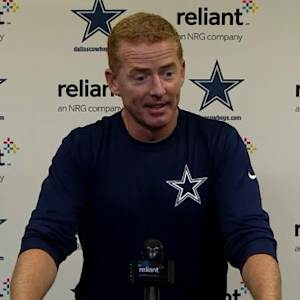 Dallas Cowboys head coach Jason Garrett on cornerback Morris Claiborne's injury