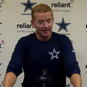 Dallas Cowboys head coach Jason Garrett on cornerback Morris Claiborne's injury