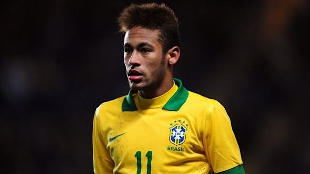 Neymar maintained his record of scoring in each match at the tournament so far for Brazil