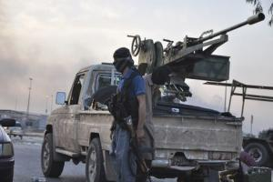 Fighters of the Islamic State of Iraq and the Levant…