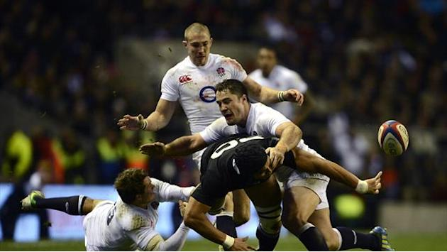 Rugby - England to face All Blacks four times in 2014