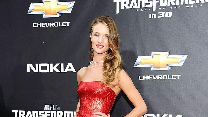 Rosie Huntington Whiteley TransformersNY Pr