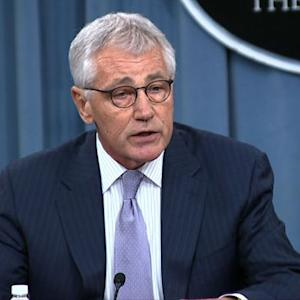 "Chuck Hagel: James Foley death a casualty of ISIS's ""ruthless, barbaric ideology"""