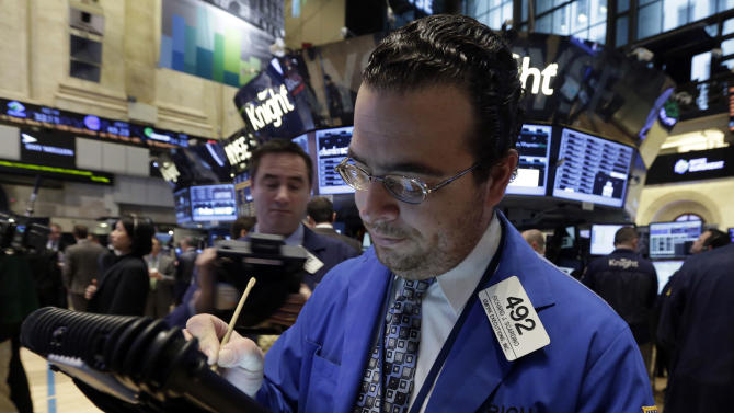 US stock markets fall despite Cyprus bailout