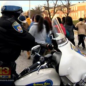 Morgan State University Took To The Streets To Protest  The Ferguson Decision