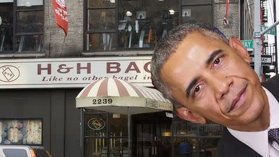 Like a True New York Foodie, President Barack Obama Laments the Loss of H & H Bagels
