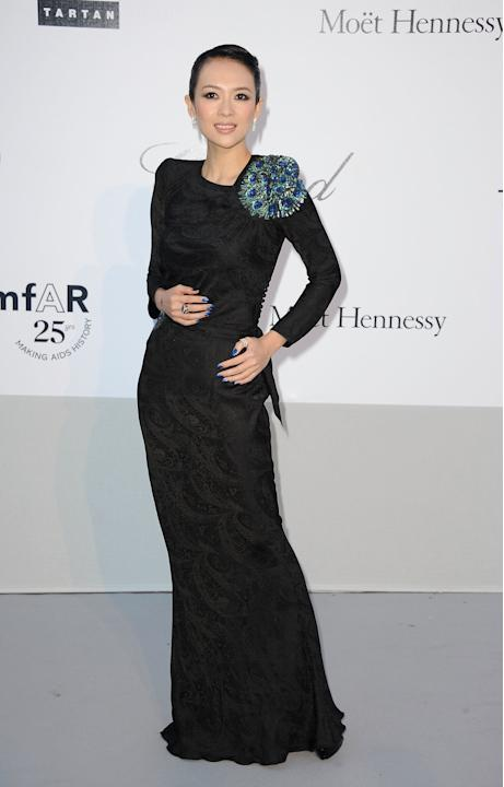 amfAR Gala - Red Carpet Arrivals - 64th Annual Cannes Film Festival