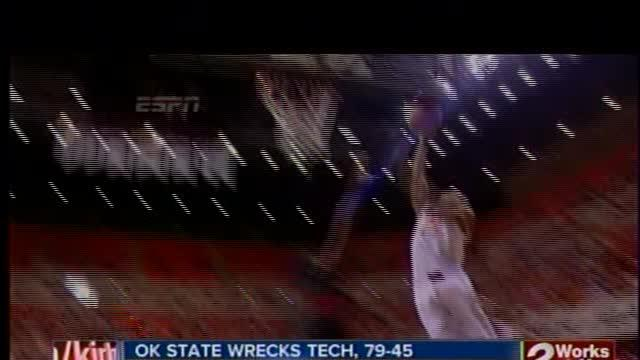 Oklahoma State wrecks Texas Tech, 79-45