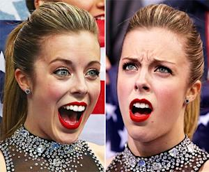 Ashley Wagner, USA Figure Skater, Gives Hilarious Reaction to Low Score: Picture