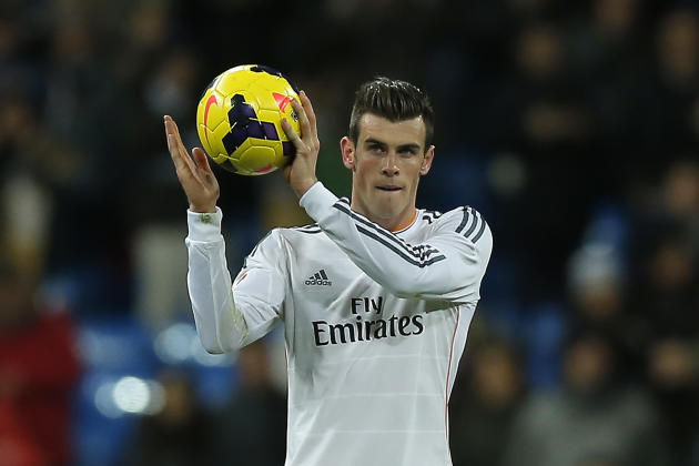 AP soccer poll honors: Gareth Bale, Arsenal