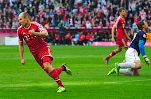 Bayern Munich 4-1 Mainz: Muller stars in second-half Bavarian barrage